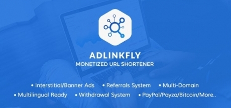 AdLinkFly - Monetized URL Shortener Nulled 6.4.0