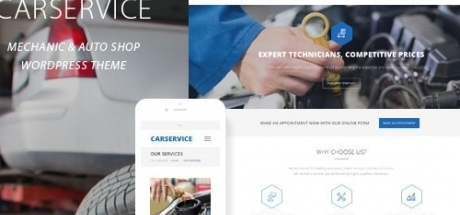 Car Service - Mechanic Auto Shop WordPress Theme 5.3