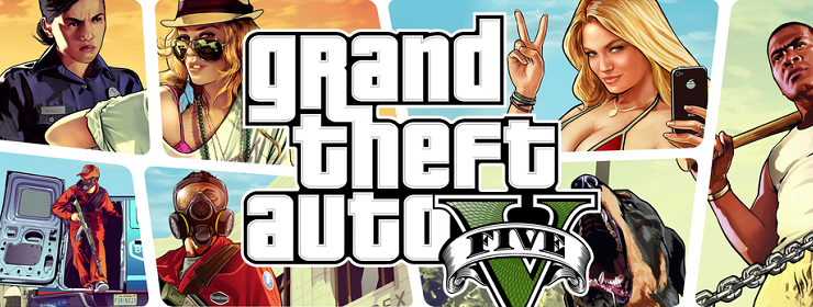 Grand Theft Auto V (GTA 5) 2015 Full Cờ rắc